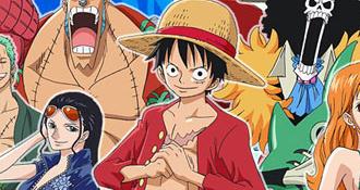 One Piece celebra con todo sus 15 Años en 2012