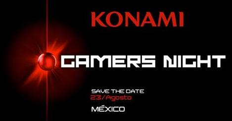 Konami hará en México una noche sólo para videojugadores