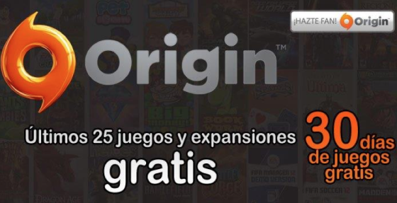 Juegos gratis con EA y Origin este 20 de Agosto 2012