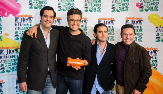 Se presentan oficialmente los Kids' Choice Awards México 2012