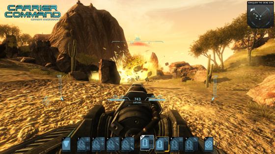 Carrier Command: Gaea Mission tendrá soporte 3D