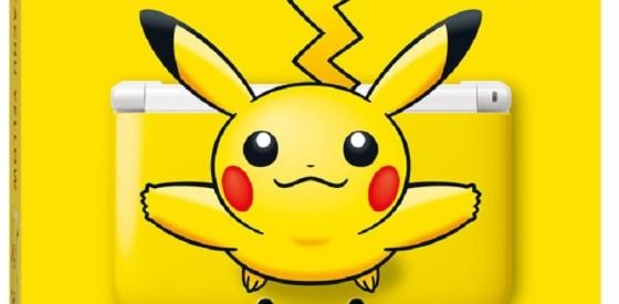 Nintendo estrenará un 3DS XL de Pikachu
