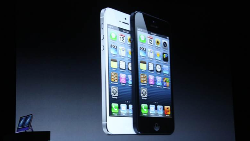 Apple presenta iPhone 5 y nuevos iPod