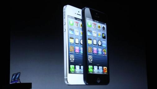 Apple presenta iPhone 5 y nuevos iPod