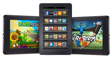 Amazon presenta Kindle Fire HD