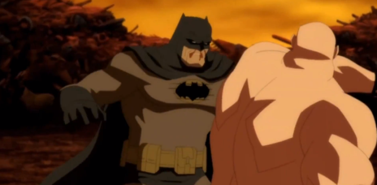 Primer vistazo a Batman: The Dark Knight Returns Part 1