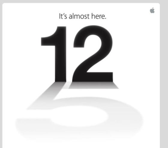 Rumor: Apple estrenará el iPhone 5 el 12 de septiembre