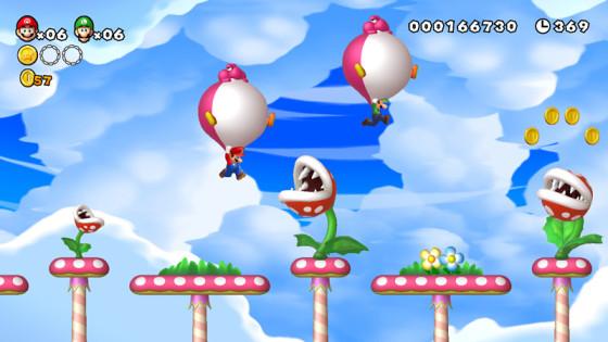 Conoce el modo cooperativo de New Super Mario Bros. U
