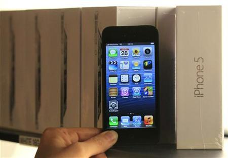 Samsung demanda a Apple por el diseño del iPhone 5