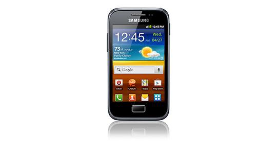 Galaxy Ace Plus en el Rockampeonato Telcel 2012