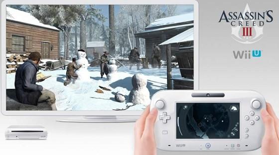 Juega Assassin's Creed 3 en 3D con el GamePad de Wii U