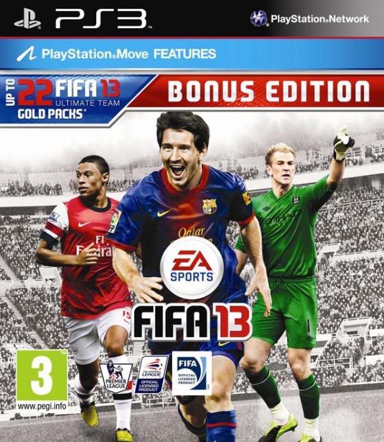 Electronic Arts anunció la 'Bonus Edition' de FIFA 13