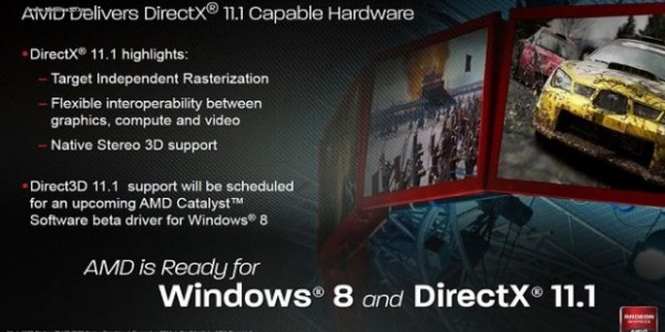DirectX 11.1 será exclusivo para Windows 8
