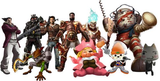 Nuevos personajes en All-Stars Battle Royale