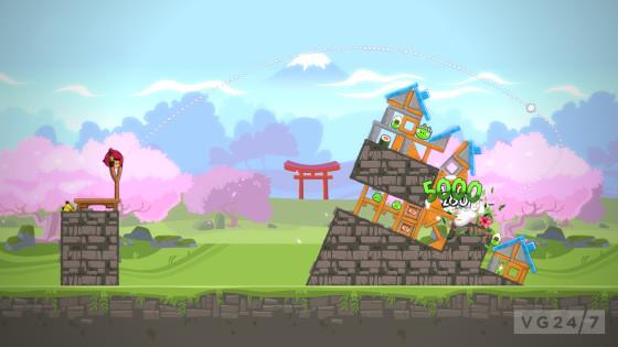 Primer DLC para Angry Birds Trilogy
