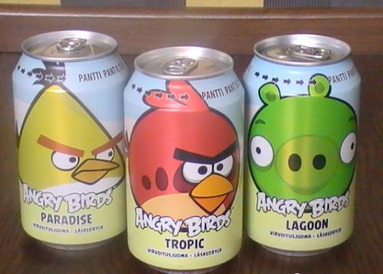 Refresco de Angry Birds supera las ventas de Coca-Cola en Finlandia