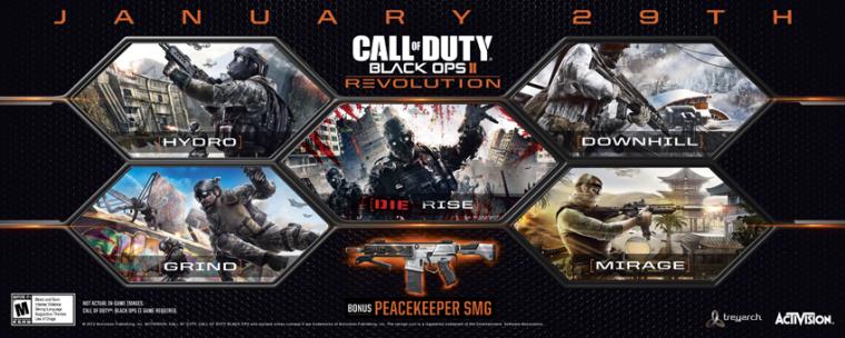 Video: Primer vistazo a Revolution el DLC de Call of Duty: Black Ops II
