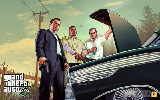 Grand Theft Auto V establece siete récords Guinness