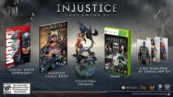 Injustice: Gods Among Us llegará a México el 16 de abril