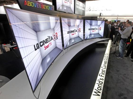 CES 2013: Primera TV OLED con pantalla curva
