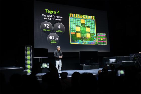 CES 2013: Nvidia presenta el procesador móvil Tegra 4
