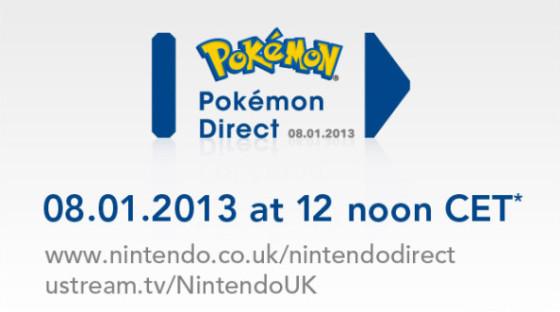 El primer Nintendo Direct de 2013 se enfocará en Pokémon