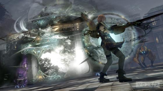 Nuevas imágenes de Final Fantasy XIII muestran a Lumina