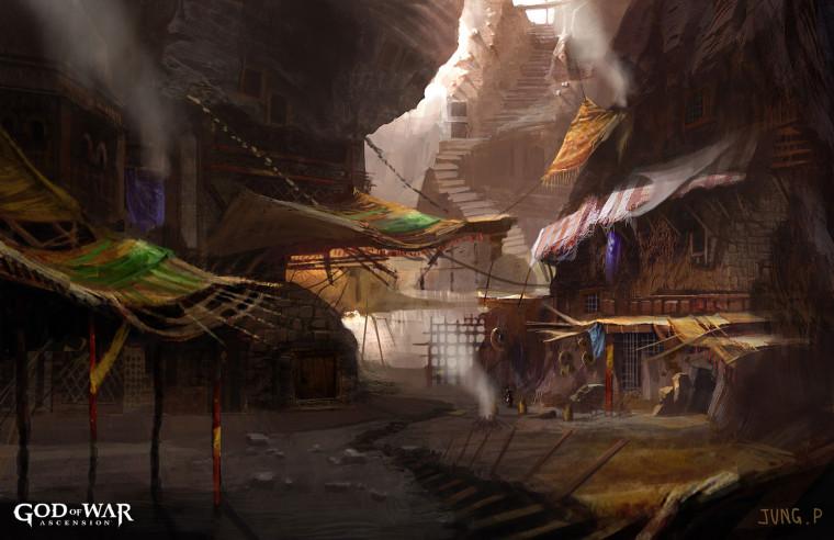 Conoce los nuevos ambientes de God of War: Ascension