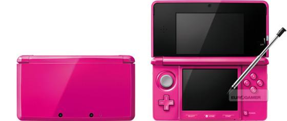 Nintendo 3DS estrena colores en Japón