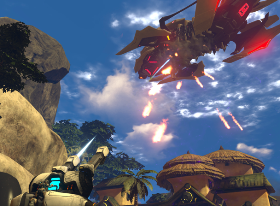 RED 5 Studios ofrece radiodifusión de Twitch con integración chat exclusiva para Firefall