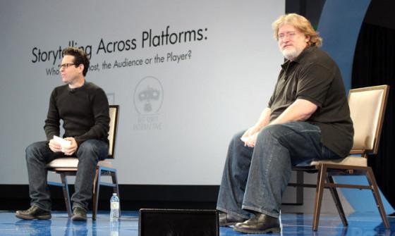 Gabe Newell quiere colaborar con J.J. Abrams para crear cine y videojuegos