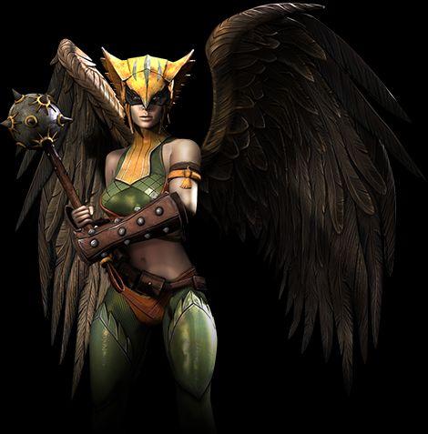 Siniestro y Hawkgirl confirmados para Injustice: Gods Among Us