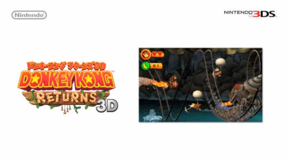 Donkey Kong regresa con un nuevo platformer en 3DS, primer screenshot