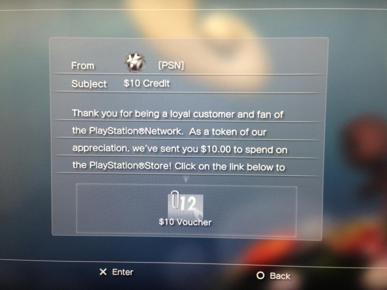 Playstation te regala dinero.