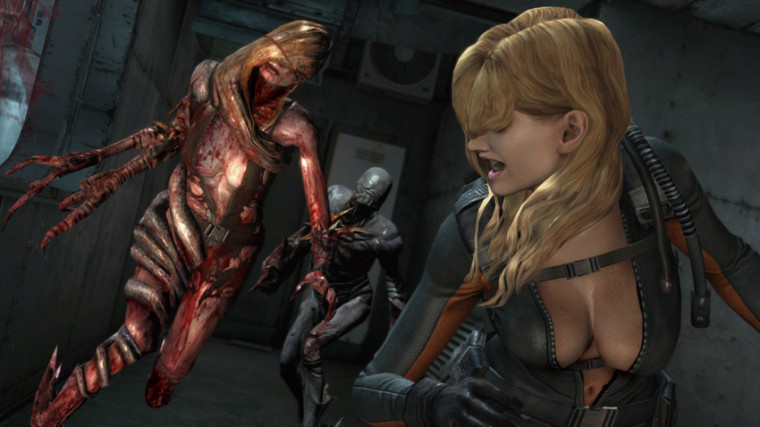 Podrás jugar como Rachel en Resident Evil: Revelations