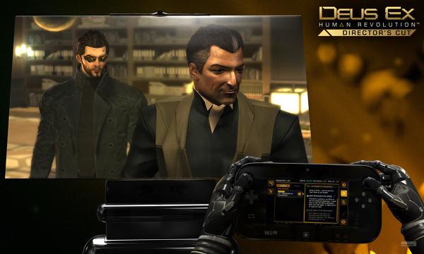 Confirmado Deus Ex: Human Revolution Director's Cut para Wii U