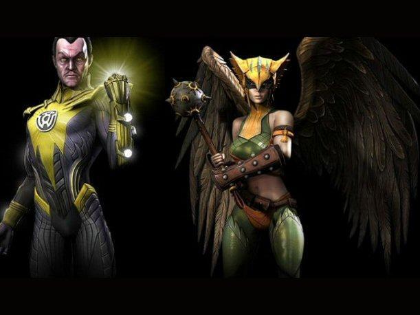 Injustice: Battle Arena: Superman y Green Arrow son los héroes esta semana