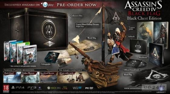 Ubisoft revela la edición de colección de Assassin's Creed 4: Black Flag y un nuevo trailer