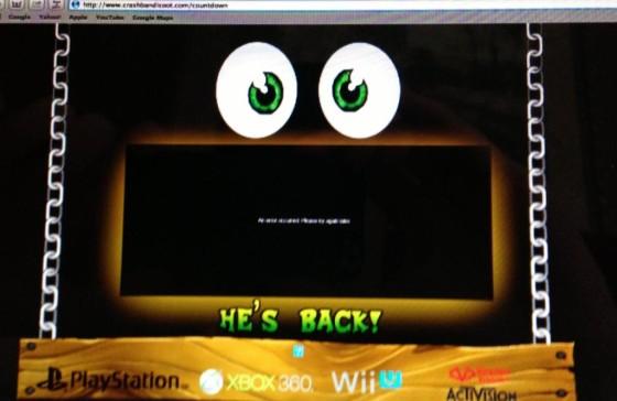Rumor: Nuevo juego de Crash Bandicoot