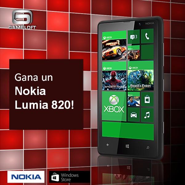 Gameloft presenta su concurso Windows Phone  en redes sociales