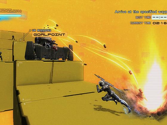 El DLC VR Missions ya está disponible para Metal: Gear Rising Revengeance