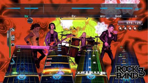 Rock Band 3 tendrá nuevo DLC