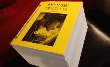 Rumor: El guión de Beyond: Two Souls tiene 2000 páginas
