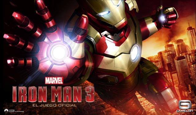 Video: Gameloft estrena el nuevo tráiler de su app de Iron Man 3