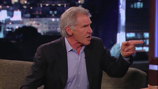 Video: Harrison Ford no contestará preguntas sobre Star Wars
