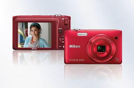 Nikon se enorgullece en presentar la COOLPIX S3400