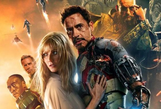 Iron Man 3 se convierte en la quinta cinta más taquillera de todos los tiempos