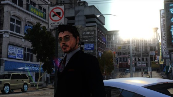 Juega como Iron Man en Grand Theft Auto IV