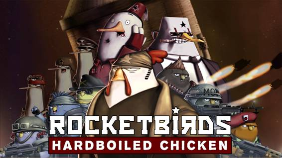 Rocketbirds: Hardboiled Chicken para PlayStation 3 y PlayStation Vita llega a PlayStation Network en México