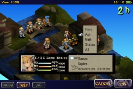 Video: Nuevo avance de Final Fantasy Tactics S para iOS y Android